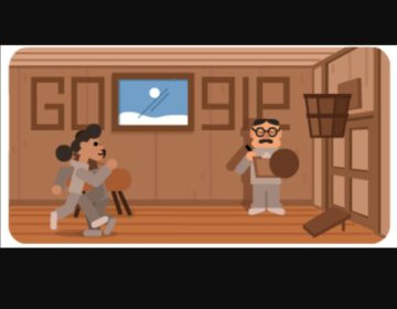Google Doodle ter ere van basketbal-bedenker James Naismith, 2021