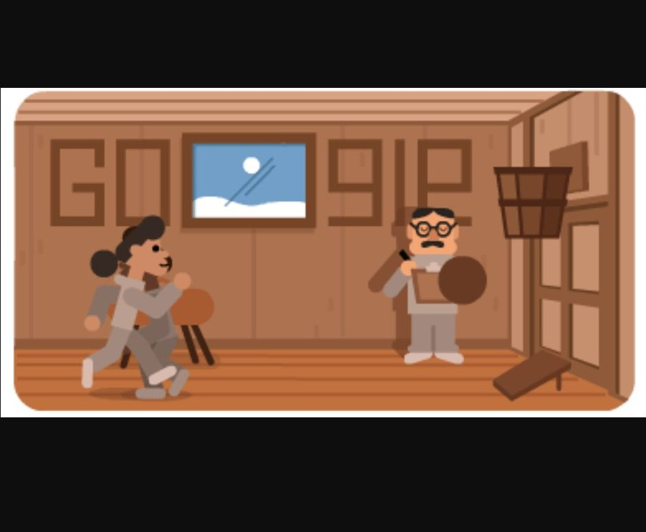 Google Doodle ter ere van basketbal-bedenker James Naismith, 2021