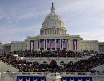 Foto gemaakt tijdens de inauguratie van president Barack Obama in 2009