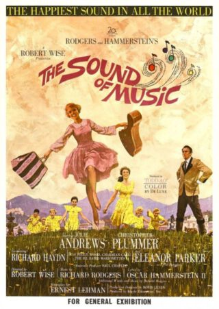 Filmposter van The Sound of Music