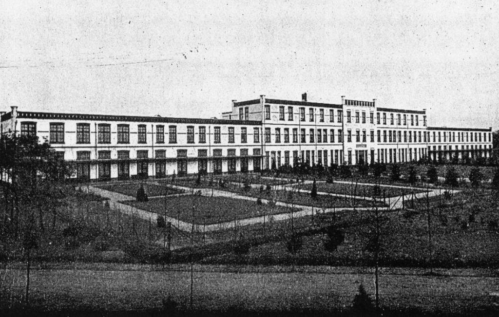 Hoofdgebouw van de Joodse psychiatrische inrichting Apeldoornsche Bosch