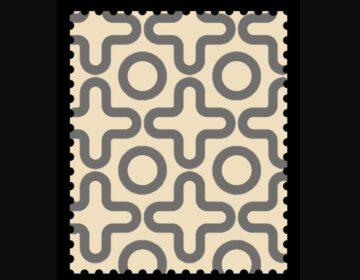 Postzegel uit Bizonië