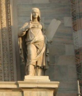 La Legge Vecchia - uitsnede van een foto van Giovanni Dall'Orto (Publiek Domein - wiki)