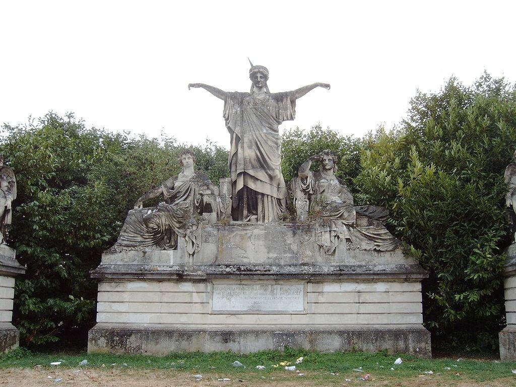 La France couronnant l'Art et l'Industri