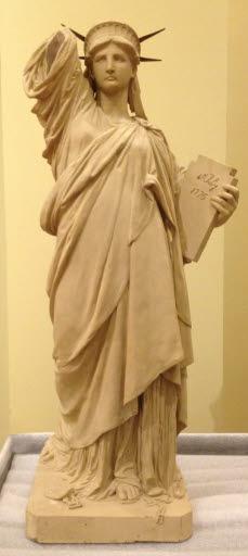 Modèle du Comité, terracotta, ca 1876 (93,93 x 38,1 x 30,48)