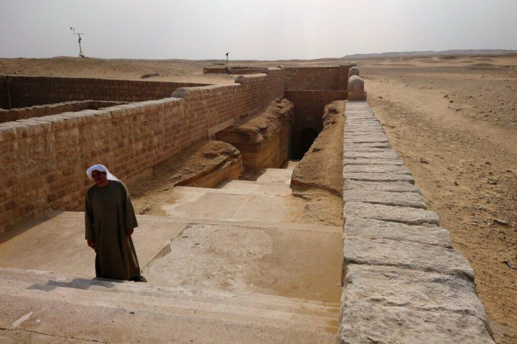 Toegang tot het tempelcomplex