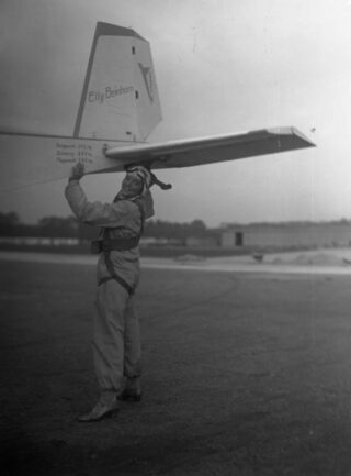 Elly Beinhorn 1933