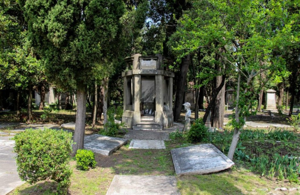 Italië, Cimitero olandese-alamanno Livorno