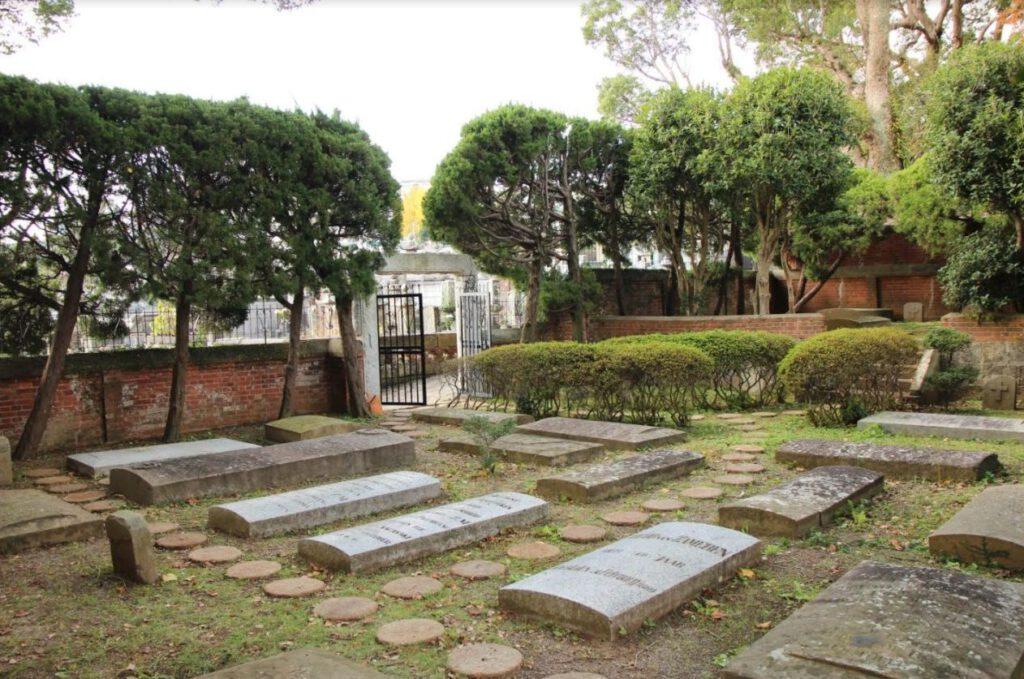 Japan, Hollandsche begraafplaats Nagasaki