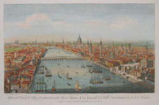 Londen in 1751 - Thomas Bowles