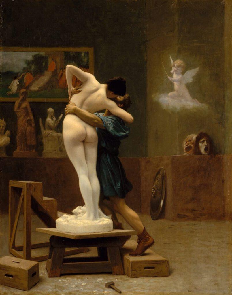 Pygmalion en Galatea - Jean-Léon Gérôme