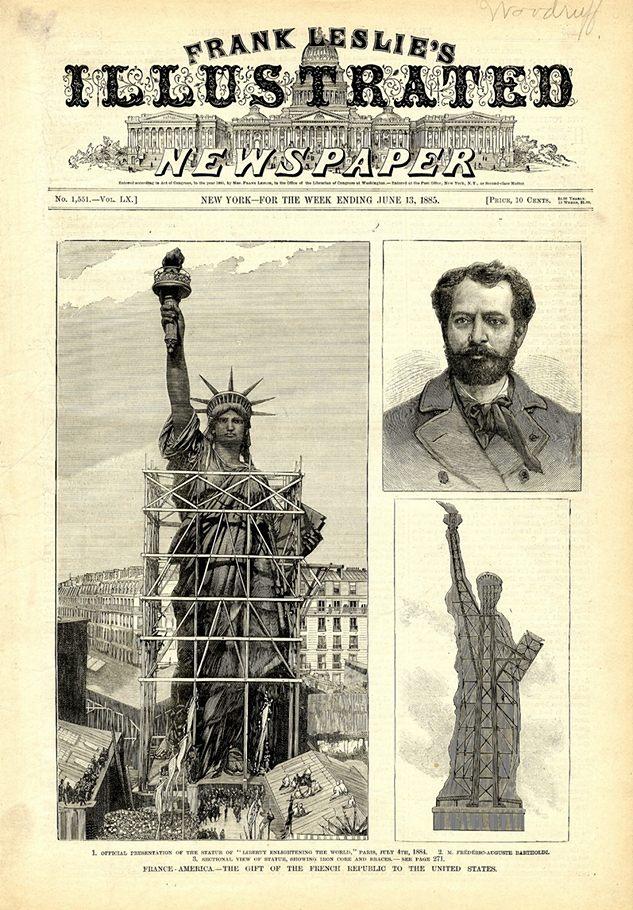 Frank Leslie's Illustrated Newspaper, New York, 18 juni 1885