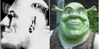 Uiterlijk Shrek mogelijk gebaseerd op Franse worstelaar