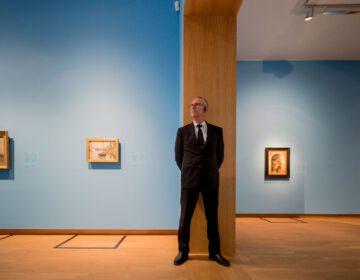 Johannes Roukema, beveiligingsmedewerker van het museum