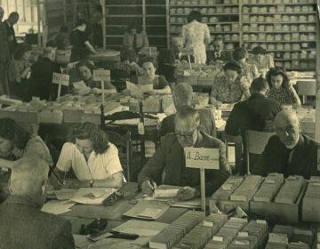 Administratie van de Joodse Raad Cartotheek