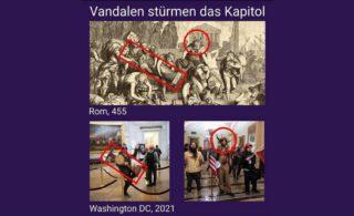 Rome 455, Washington 2021?