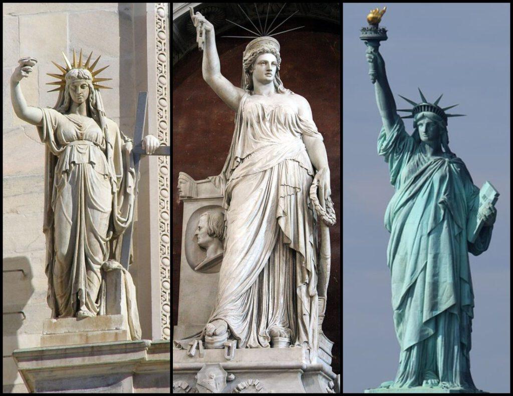 Vlnr: La Legge Nuova, Libertà della Poesia & Statue de la Liberté