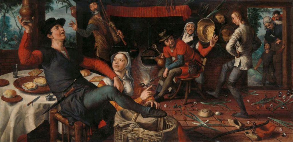 2.17 Pieter Aertsen, De Eierdans, 1552