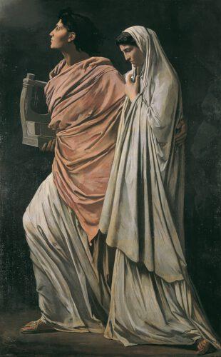 Orpheus en Eurydice - Anselm Feuerbach, 1719