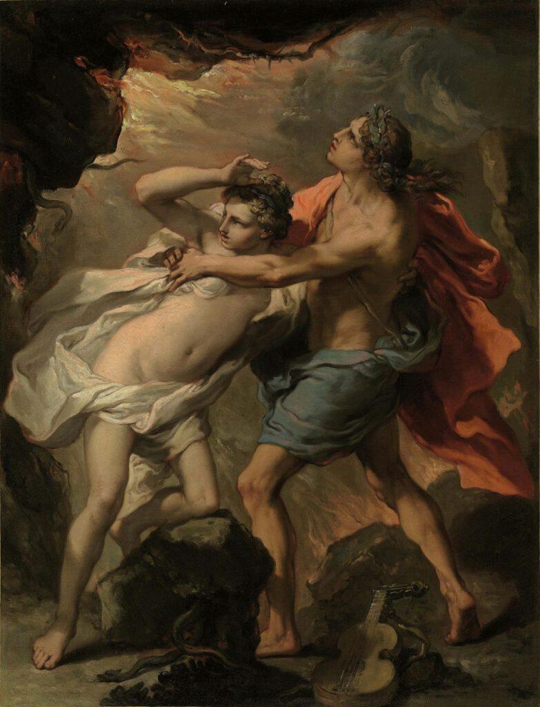 Orpheus en Eurydice - Gaetano Gandolfi