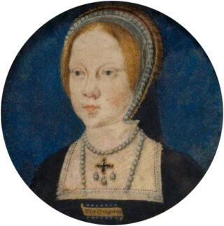 Mary ten tijde van haar verloving met Karel V