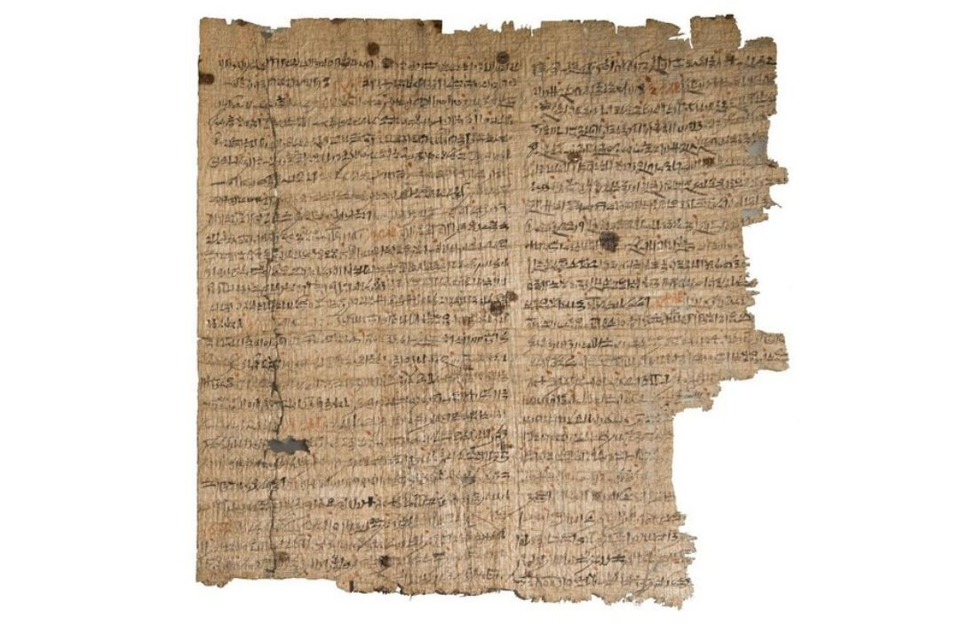 De Leidse Amunpapyrus (© Rijksmuseum van Oudheden, Leiden)