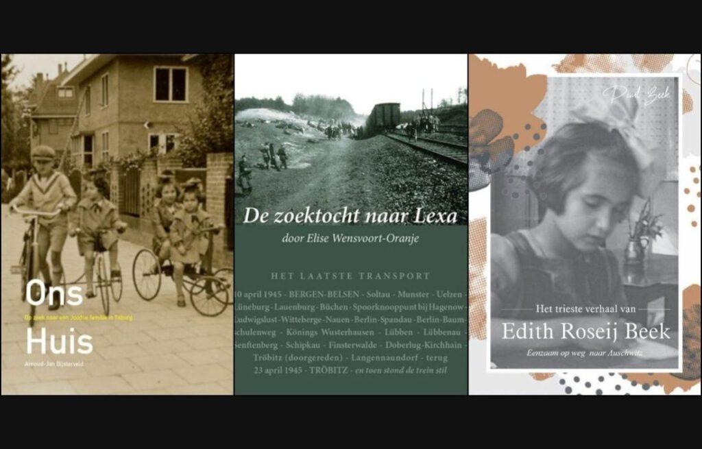 De drie besproken boeken