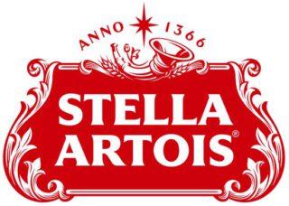 Logo van het biermerk Stella Artois