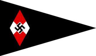 Wimpel van de Bund Deutscher Mädel