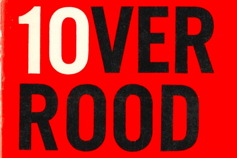 Detail van het boekje '10 over Rood: uitdaging van Nieuw Links aan de PvdA'