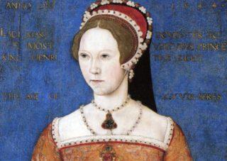 Maria I van Engeland in 1544