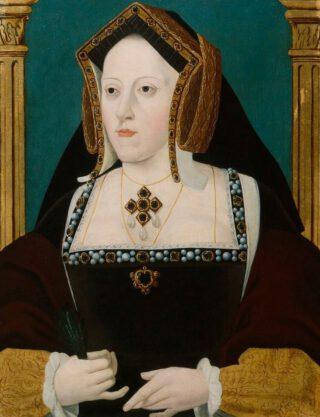 Mart's moeder: Catharine van Aragon - 18e-eeuwse kopie van een verloren origineel portret