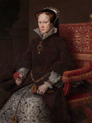 Portret van Maria I van Engeland door Antonis Mor, 1554