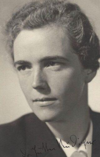 Jutta Rüdiger, 1937