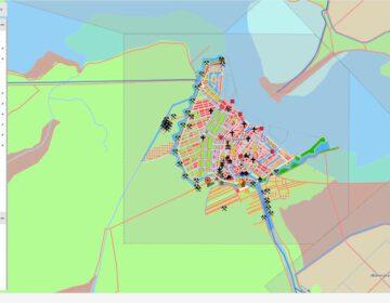 Detail van de Kaart van de verstedelijking