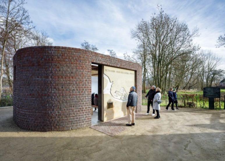 Het nieuwe paviljoen van Beth Haim