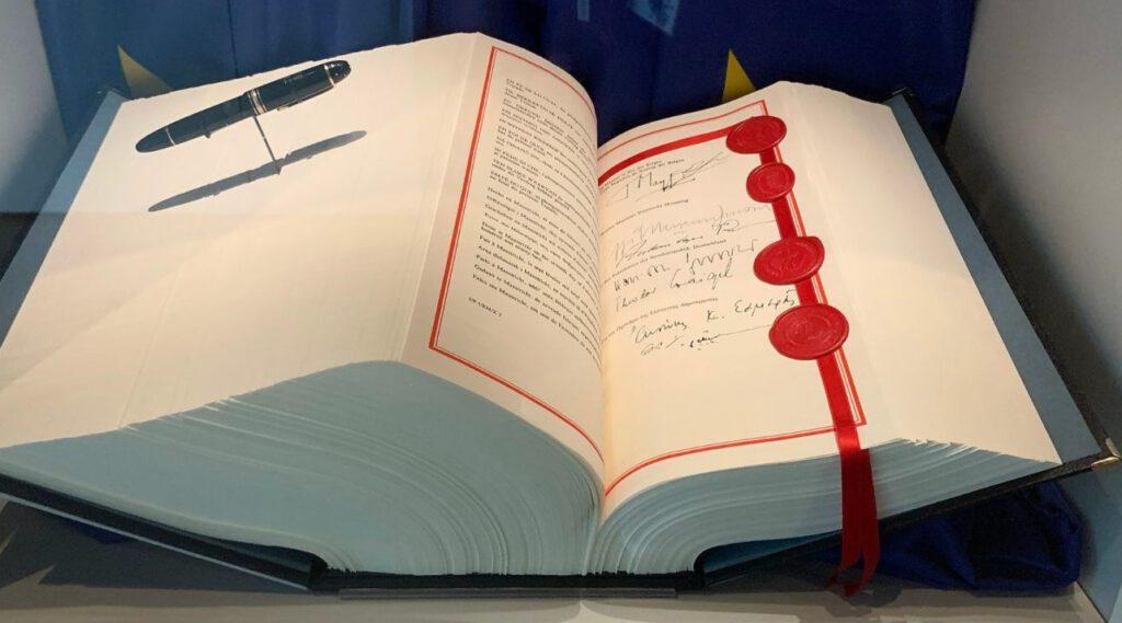 Tekst van het Verdrag van Maastricht