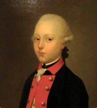 Gijsbert Karel van Hogendorp als jongeling