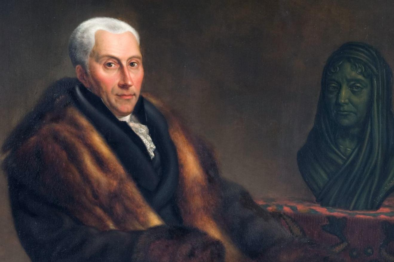 Gijsbert Karel van Hogendorp - Schilderij van Jean François Valois