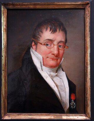 Jean-Baptiste Plasschaert, geportretteerd door Frans van Dorne