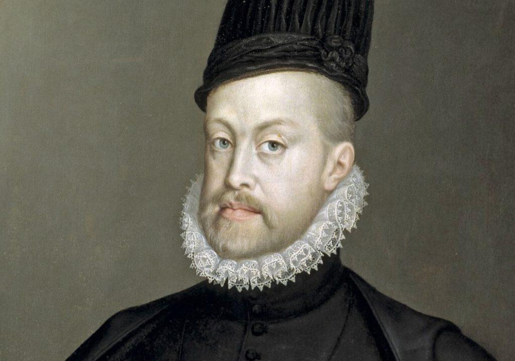 Filips II van Spanje, 1573 - Portret door Sofonisba Anguissola