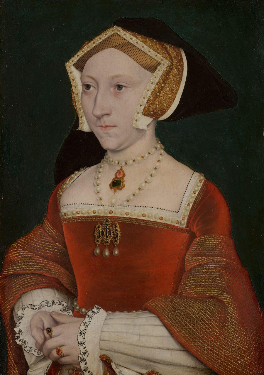 Atelier Hans Holbein de Jonge, Jane Seymour, ca. 1540. Jane was de derde echtgenote van de Engelse koning Hendrik VIII