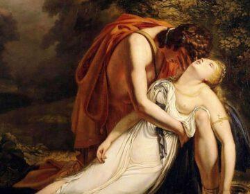 Orpheus rouwt om Eurydice - Ary Scheffer, 1814