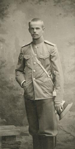 Baron Roman von Ungern-Sternberg, ca. 1909