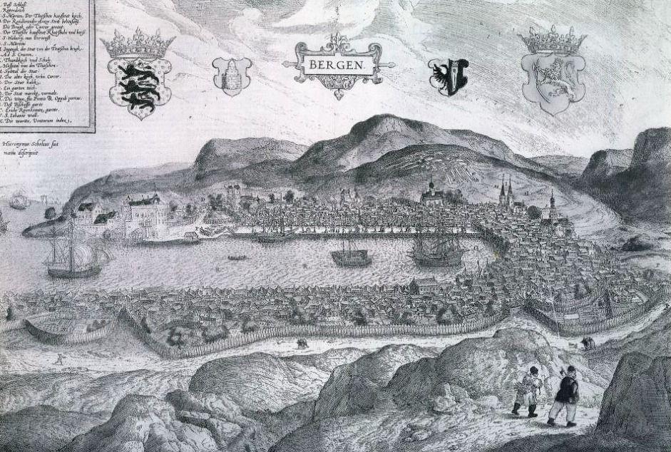 Bergen rond 1580