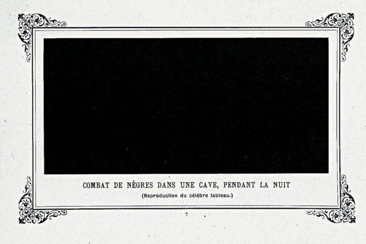 Combat de nègres dans une cave pendant la nuit - Alphonse Allais