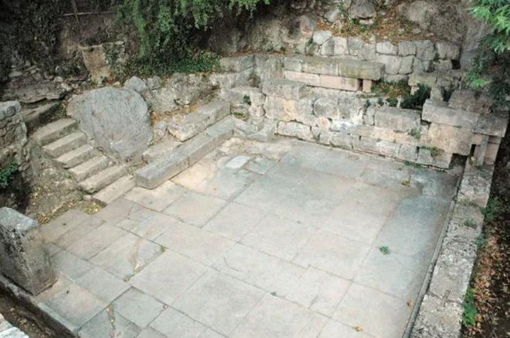 De Kastalische Bron in Delfi