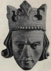 Dertiende-eeuwse afbeelding van Eirík II van Noorwegen