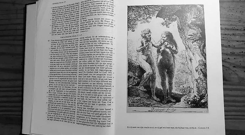 Genesis 3 Rembrandt bijbel