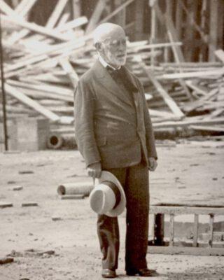H.P. Berlage (1856-1934), foto archief Kunstmuseum Den Haag